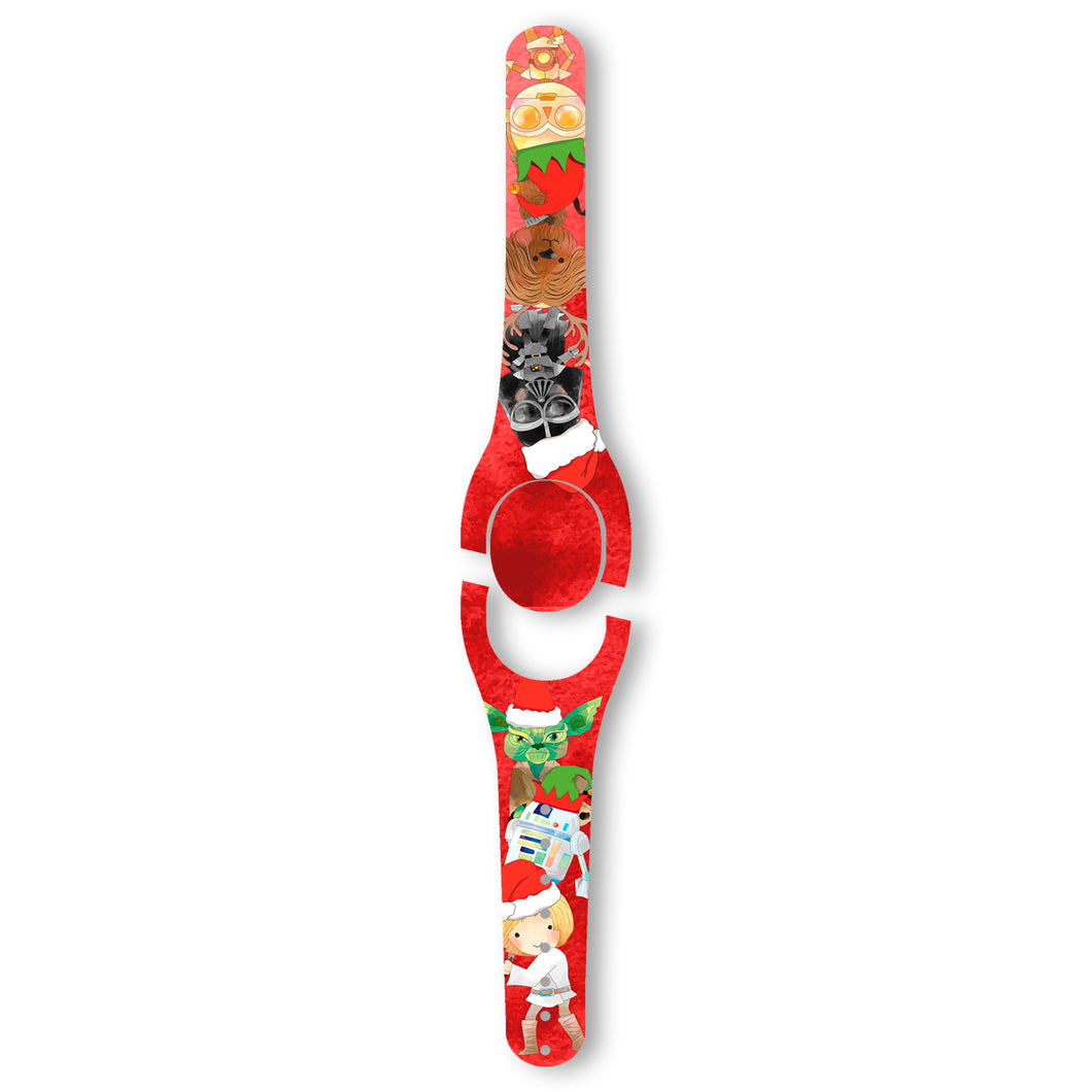 Space Friends Christmas Decal for MagicBand