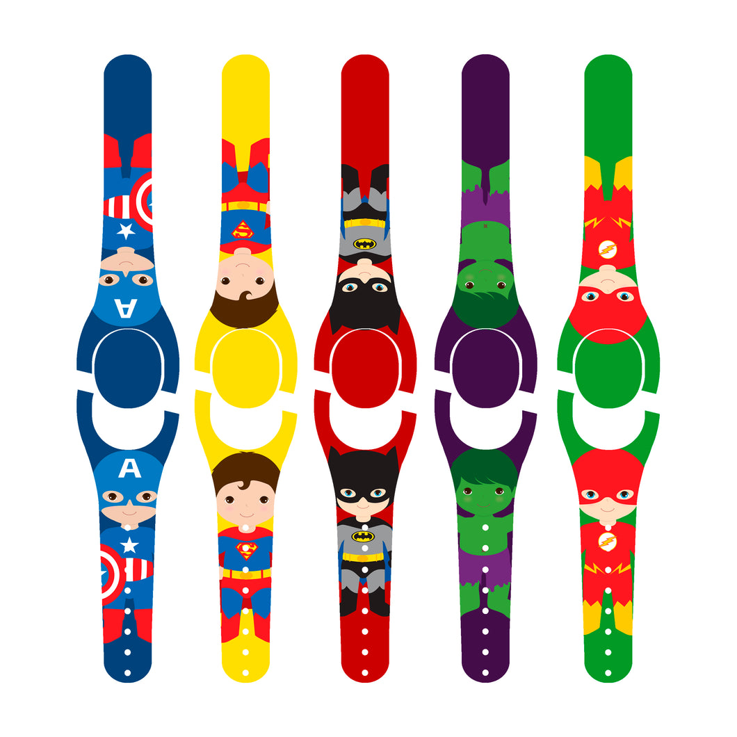 Superhero Friends Decal for MagicBand