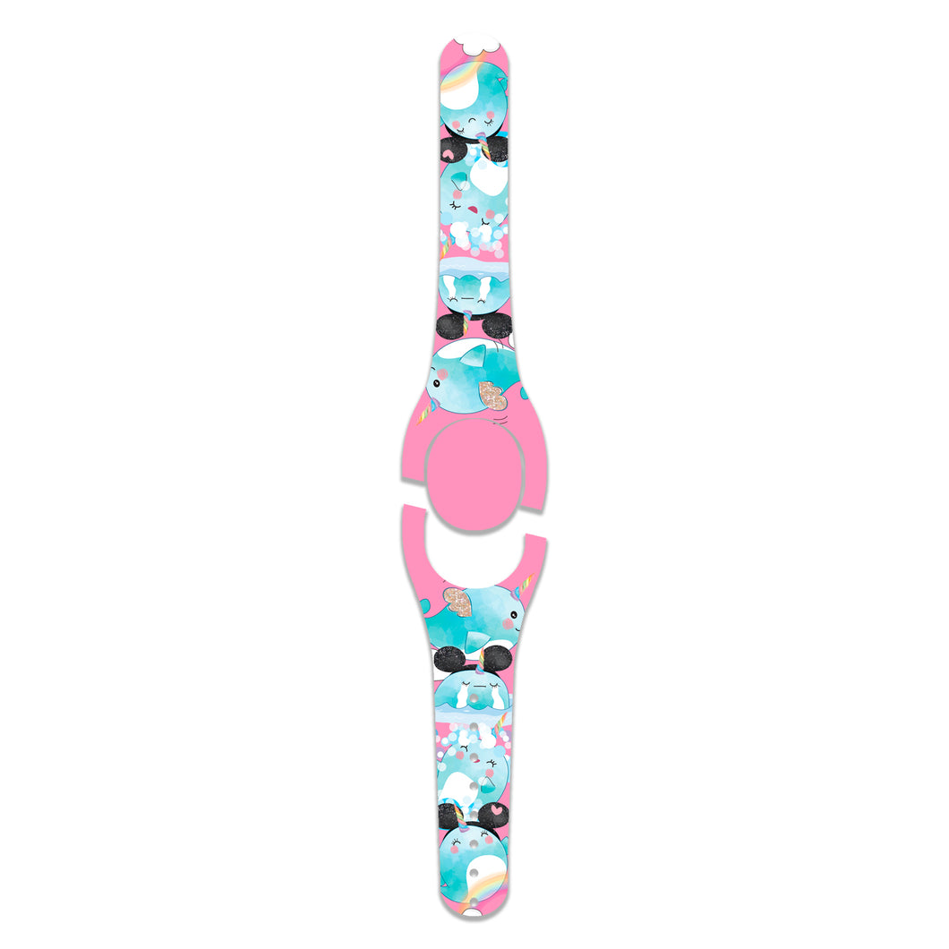 Pink Unicorn Narwhal Decal for MagicBand
