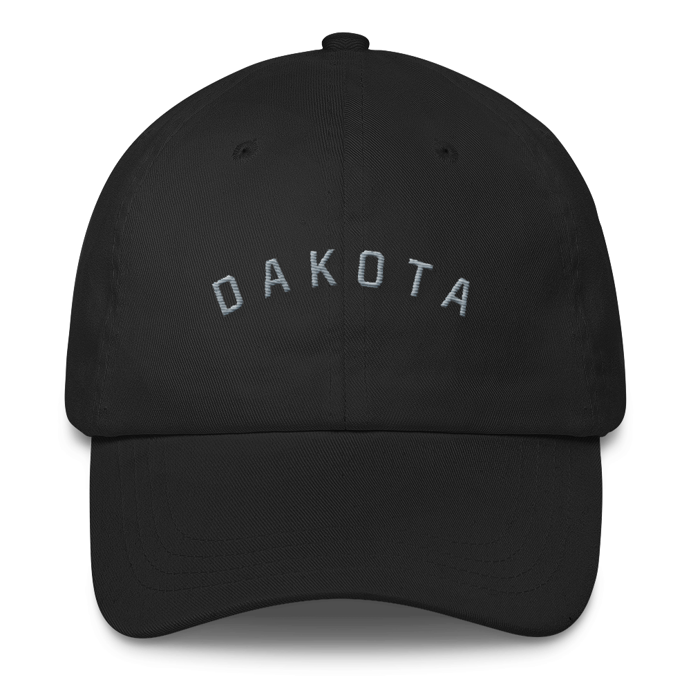 Dakota Dad Hat Hat Black