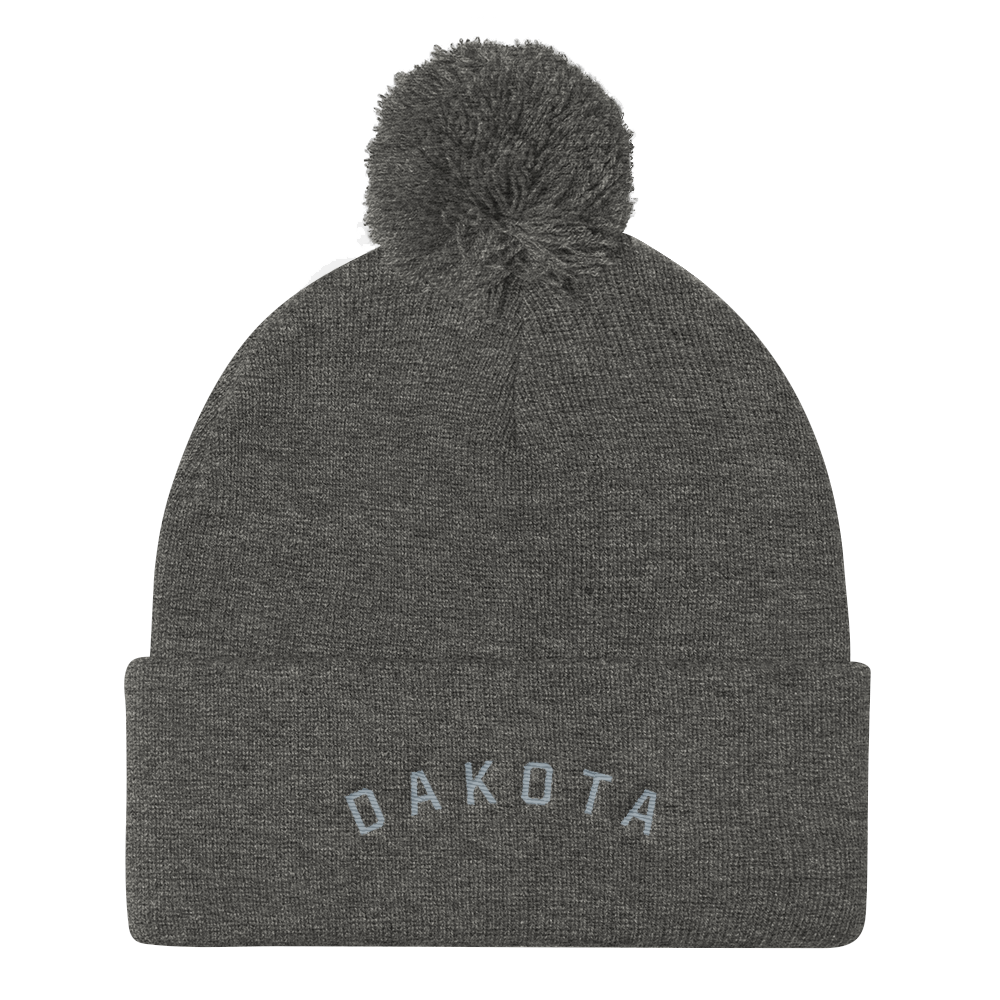 Dakota Pom Pom Hat Gray