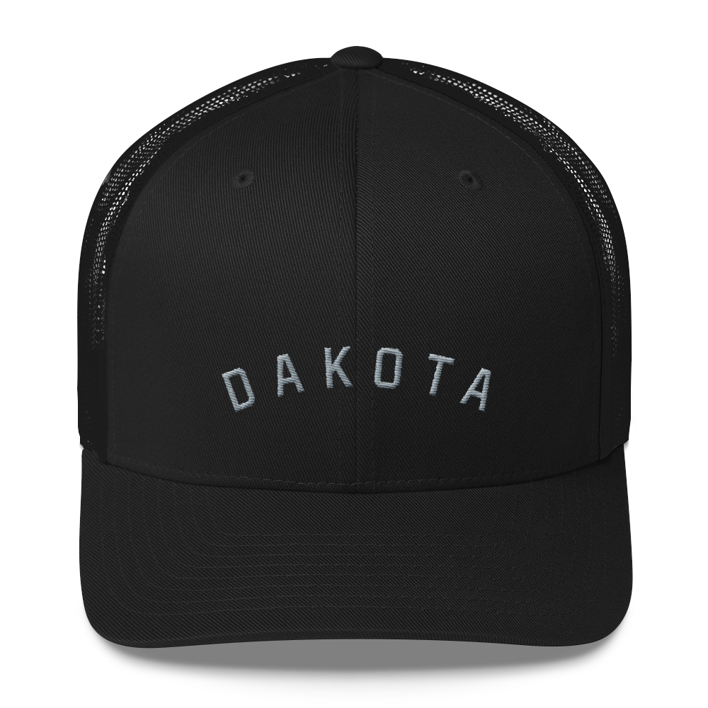Dakota Trucker Hat in Black