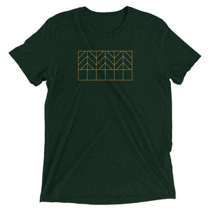 Three Trees T-shirt Emerald Green