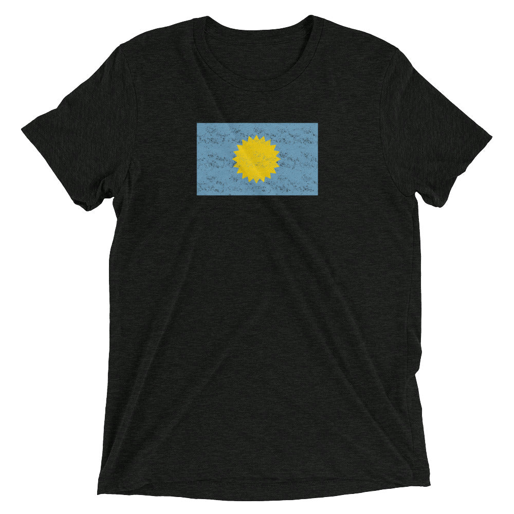 Dakota Flag T-shirt Black