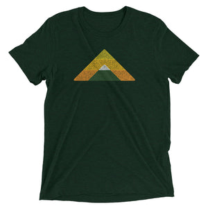 Mountain T-shirt Emerald Green