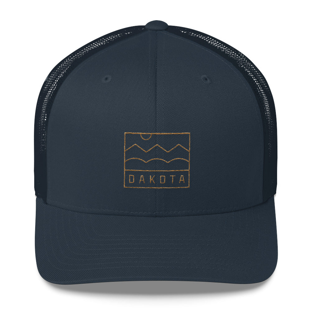 Dakota Badge Trucker Cap
