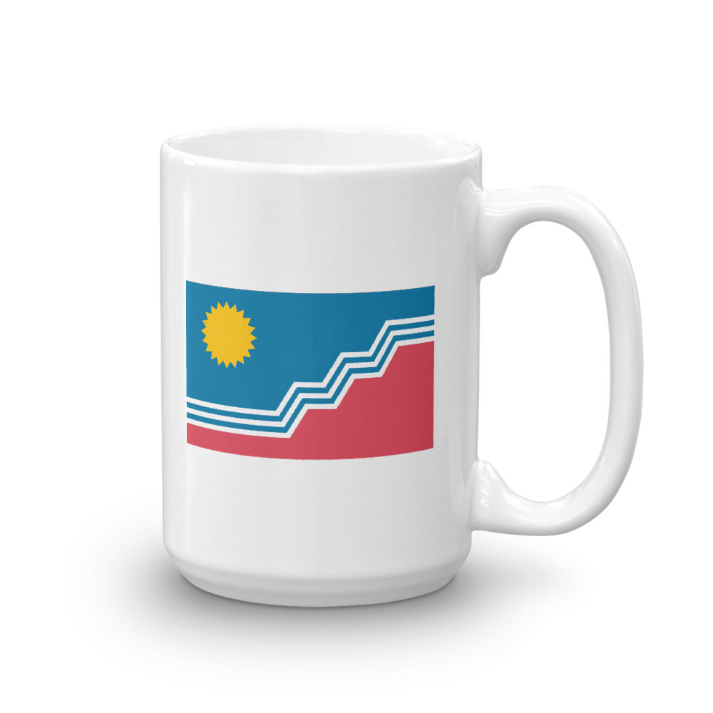 Sioux Falls Flag 15 ounce Mug