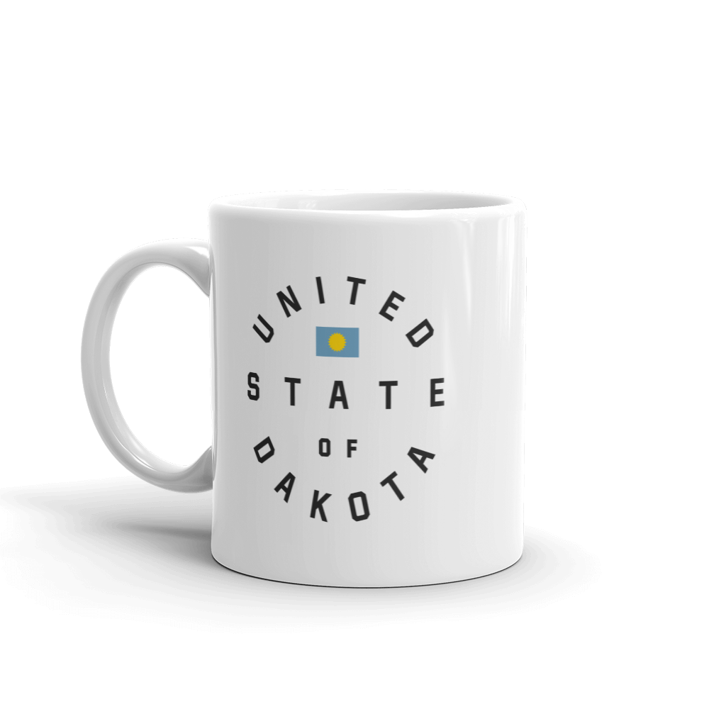 United State of Dakota 11 ounce Mug
