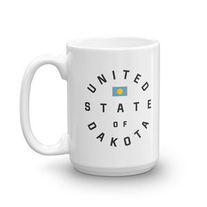 United State of Dakota 15 ounce Mug