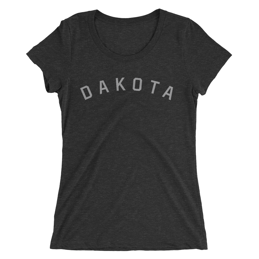 Dakota T-Shirt in Charcoal Black Triblend