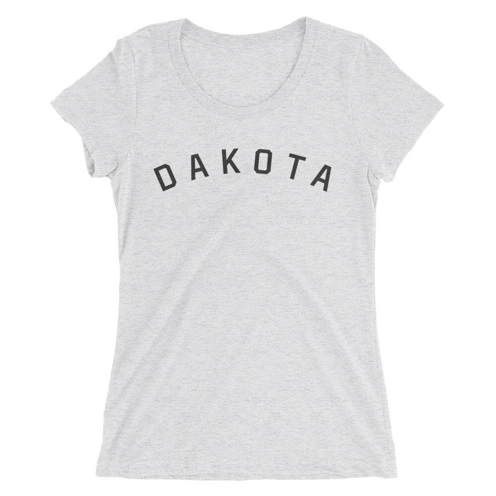 Dakota T-Shirt in White Fleck Triblend