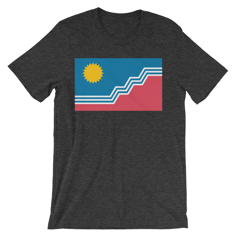 Sioux Falls Flag T-Shirt Black