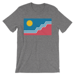 Sioux Falls Flag T-Shirt Gray