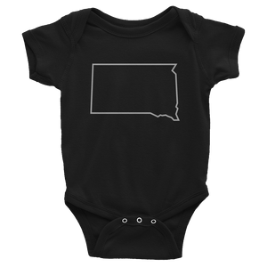 Dakota Outline Bodysuit Black