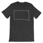 Dakota Outline T-Shirt Black