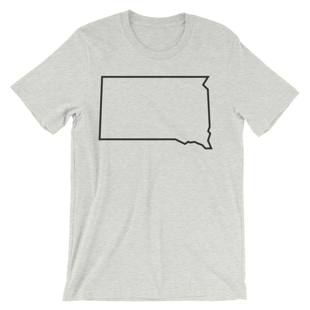 Dakota Outline T-shirt in Ash