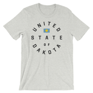 United State of Dakota T-shirt in Ash