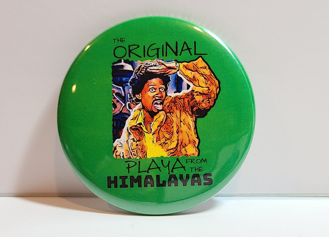 'Playa' Retro Button Pin