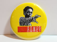 'POWER' Retro Button Pin