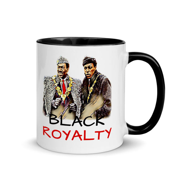 Black Royalty Retro Collector Mug