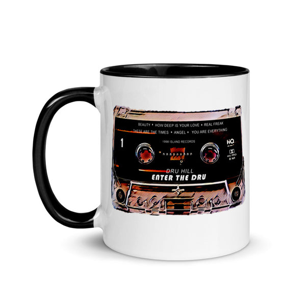 Dru Hill Cassette Retro Collector Mug