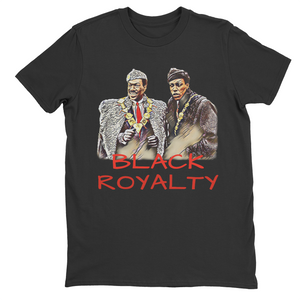 Black Royalty Retro Tee