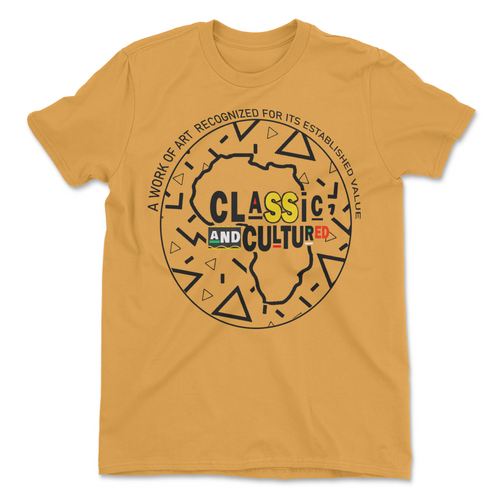 Classic & Cultured Retro Tee