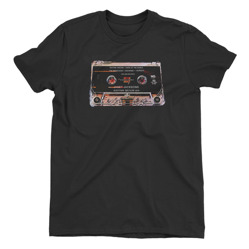 Rhythm Nation Cassette Retro Tee