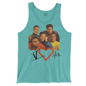 5 Heart Beats Retro Tank