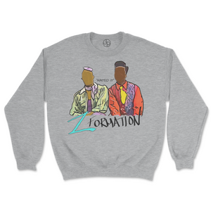 Zformation Retro Crewneck Sweatshirt