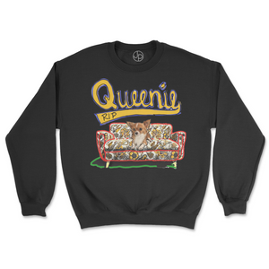Queenie Retro Crewneck Sweatshirt