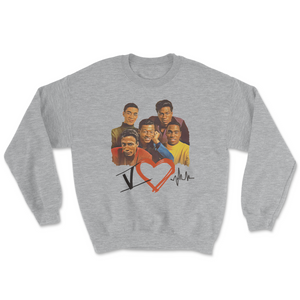 5 Heart Beats Retro Sweatshirt