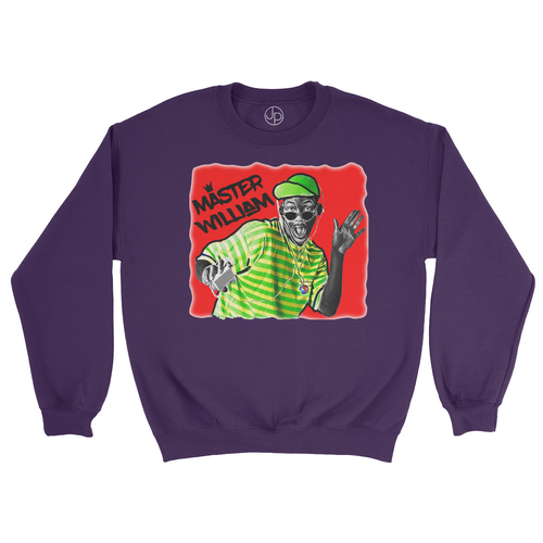 Master Willam Retro Crewneck Sweatshirt