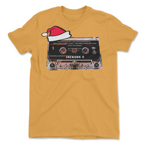 Jackson 5 Retro Holiday Cassette Tee