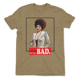 SHE BAD Retro Tee