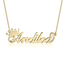 Royalty Nameplate Necklace