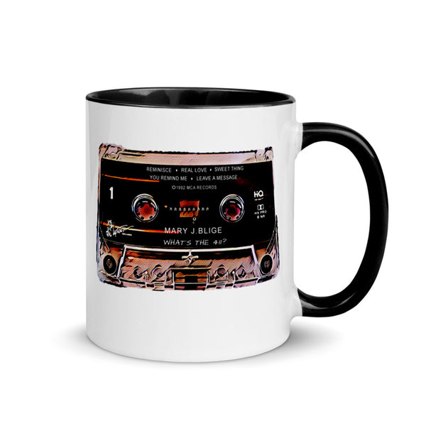 Queen of Soul Cassette Retro Collector Mug