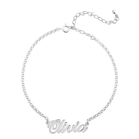 Classic Name Anklet