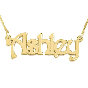 Harrie Style Nameplate Necklace