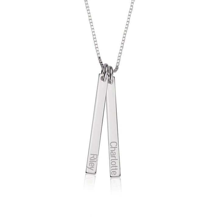 Dainty Dangling Bar Necklace
