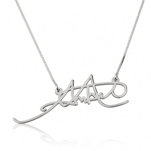 Personalized Signature Necklace