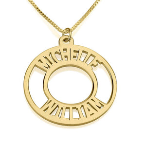 CORONA NAME NECKLACE