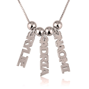 Dangling Name Necklace