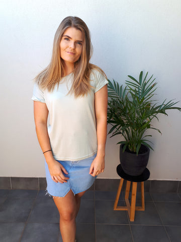 Plain Jane Tee - Mint