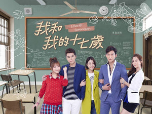 Taiwan drama dvd: Love at seventeen, english subtitle