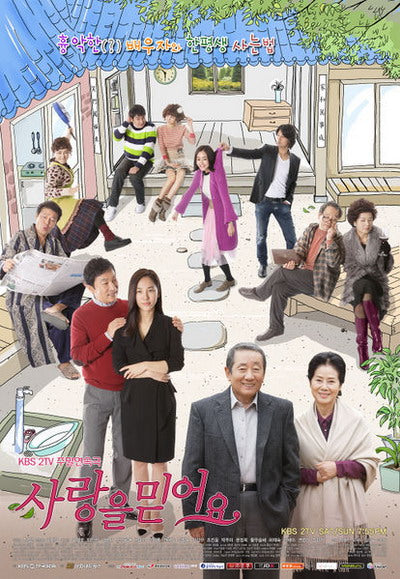 Korean drama dvd: I Believe in Love, english subtitle