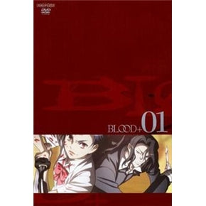 Japanese anime dvd: Blood+ , english subtitles