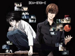 Japanese anime dvd: Death note, english subtitles