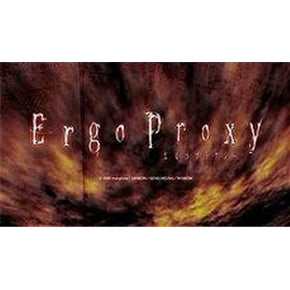Japanese anime dvd: Ergo proxy, english subtitles