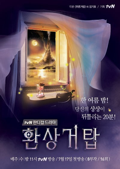 Korean drama dvd: Fantasy Tower, english subtitle